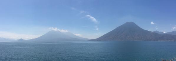 View of Lake Atitlan from San Marcos la Laguna